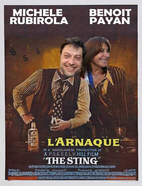 L'Arnaque Rubirola Payan EELV P.S. Marseille élections municipales