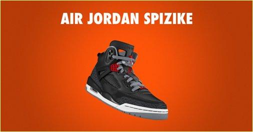 Jordan Spizike iD Shoe