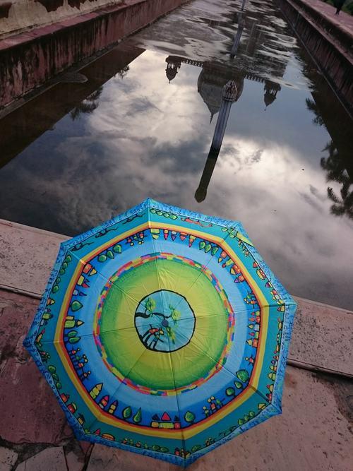 Reflets d'ombrelles