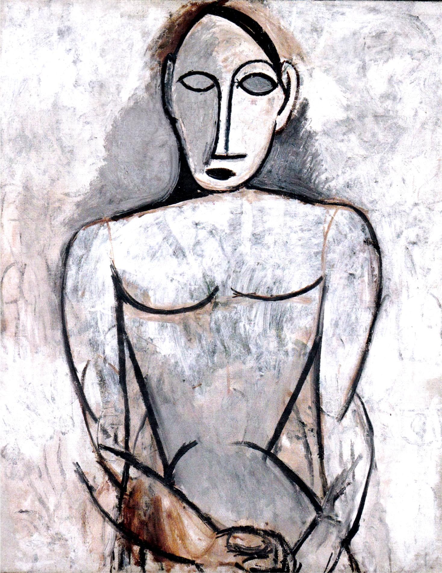 Picasso 2 Les Demoiselles D Avignon 1 Un Long Cheminement Maitres Et Tableaux