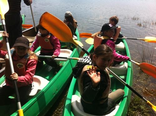 Canoë-kayak : séance 2