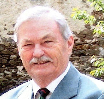 Gérard  Laglenne, officier des Arts et des Lettres./ Photo DDM, L. M.