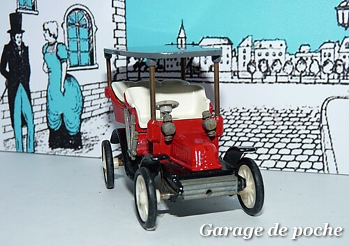 Tonneau Georges Richard 1902 RAMI JMK