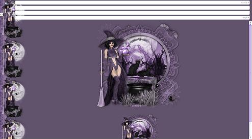 Papier Fête d'Halloween 01