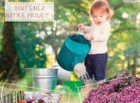 Vente de fleurs à l'école élémentaire de Bures