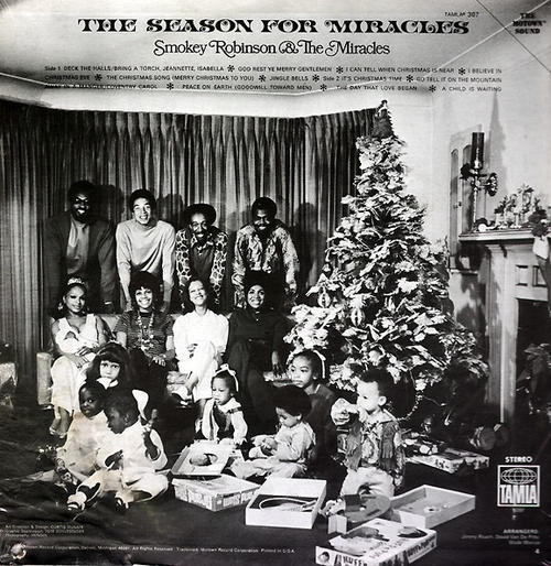 "Smokey Robinson & The Miracles : Album "" The Season For Miracles "" Tamla Records TS 307 [ US ]"