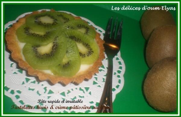 Tartelettes pâtissières au kiwi avec la Pâte à-copie-3