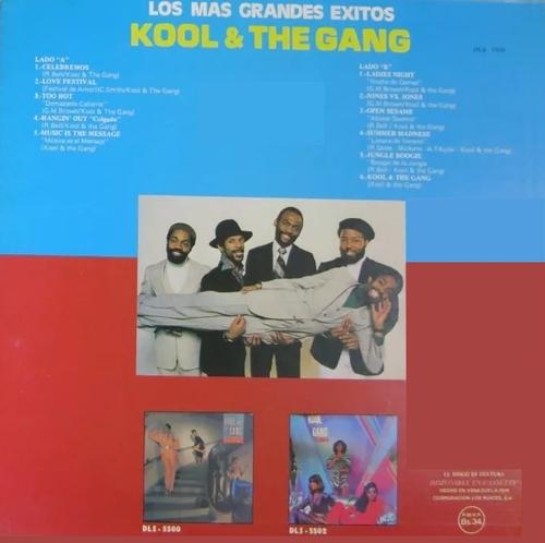 """Kool & The Gang : Album """" Los Mas Grandes Exitos """" De-Lite Records DSL-5505 [ VE ]"""