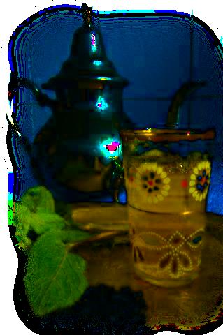 tube thé