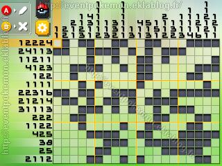 Shaymin Forme Céleste Pokémon Picross