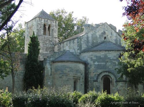 L'abbaye de Saint RUf : d'Avignon à Valence