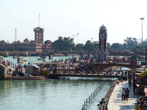 Haridwar, une autre ville sainte au bord du Gange