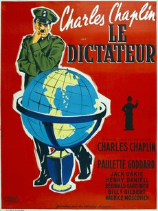 LE DICTATEUR CHARLIE CHAPLIN BOX OFFICE ANNUEL FRANCE 1945