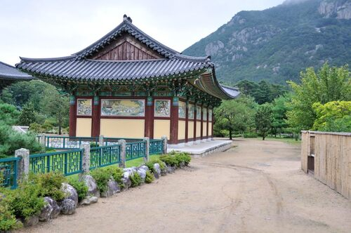 9 septembre - Visite du temple d'Unmunsa