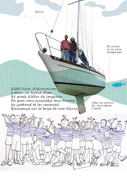 Cirrus le bateau de Maud et Jeremy