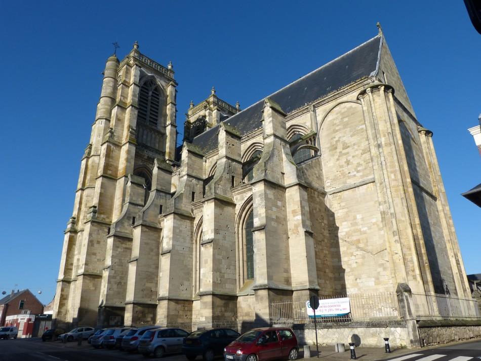 Près d'Amiens, la commune de CORBIE