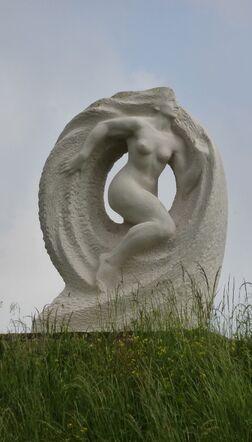 jeudi - expo de sculpture à Oudon
