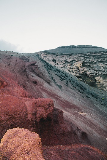 Eruption ...