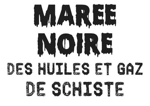 PANCARTE MAREE NOIRE