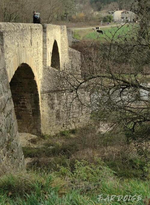 Le pont du Roi à Boucieu le Roi