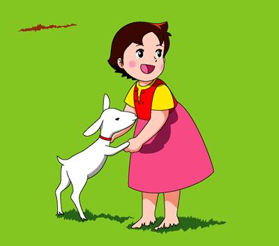 La petite chèvre