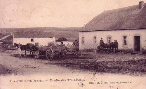 Ancien moulin des trois ponts