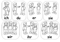 Pronoms personnels - Personalpronomen