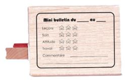 Tampon mini bulletin