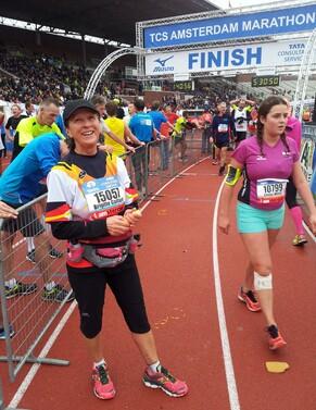 Marathon d'Amsterdam 2015...