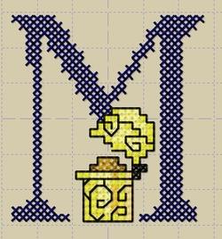 Alphabet Mercerie 5.