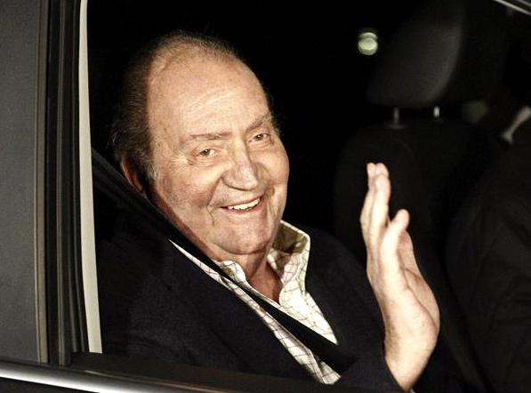 Juan Carlos est sorti