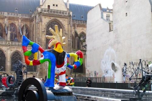 street-art fontaine Stravinski 2