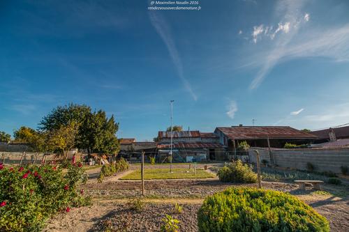 """Nouvelle station météo installée hier """"spéciale vent"""" à Loudun, hier après-midi sous un plein soleil et 15°c"""