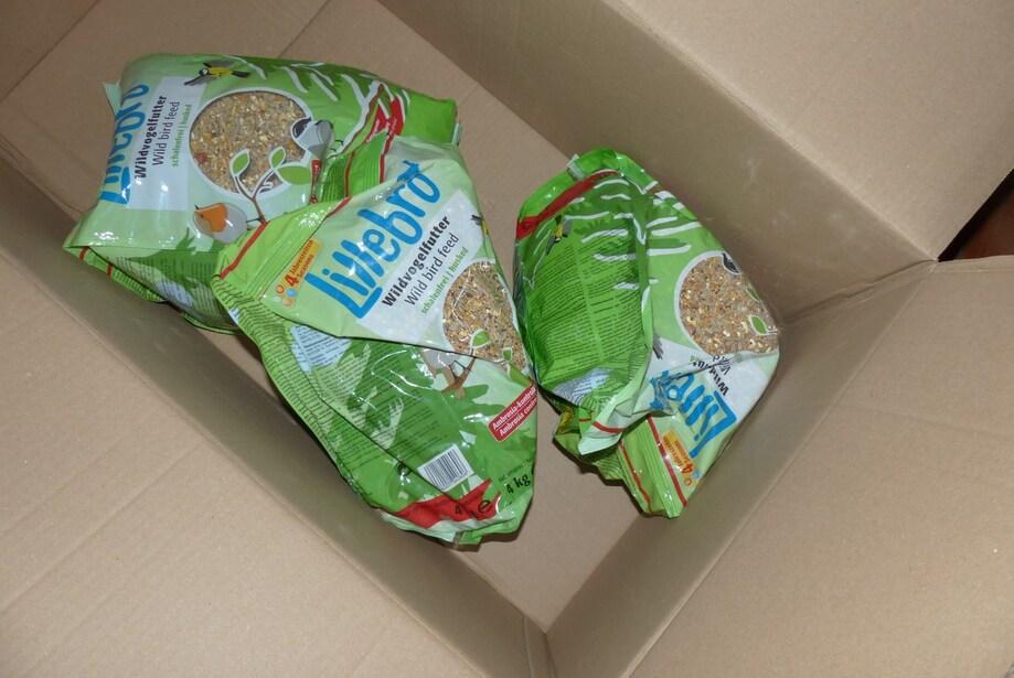 Deux boites en cartons 100% recyclés!