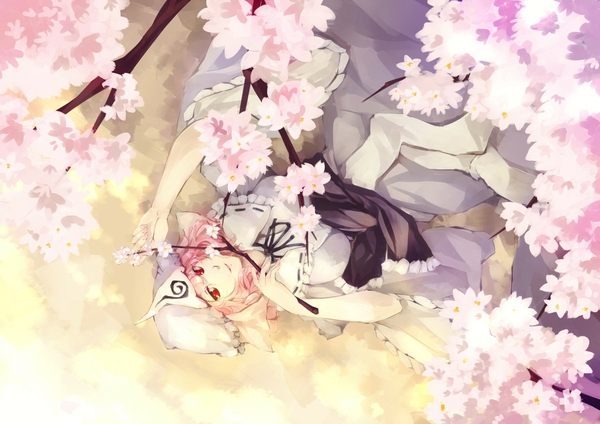 Cherry Blossom Wallpaper Anime Cherry blossom