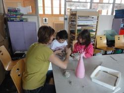 sculptures avec Julie ARGOUSE !
