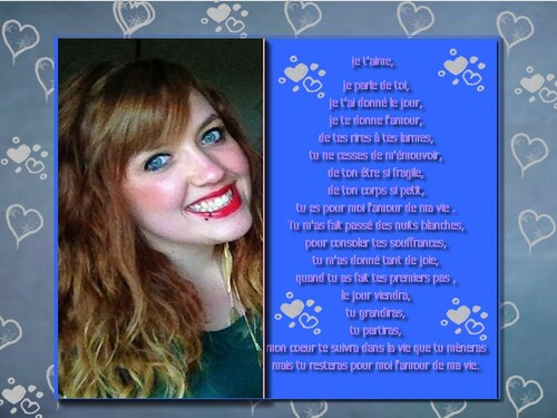 poèmes pour mes enfants et ma belle fille ainsi que lylie rose