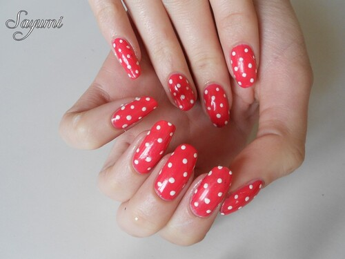 Nail Art Pin Up rétro