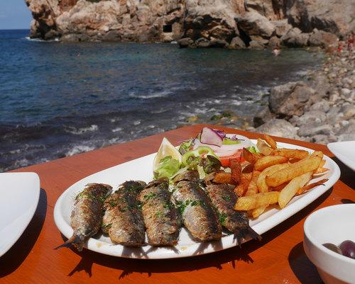 Majorque - Ouest de l'île -  cala Deïa - village de pêcheurs