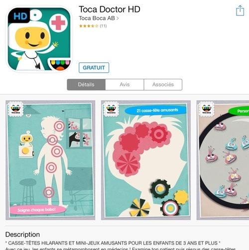 [appli] toca doctor