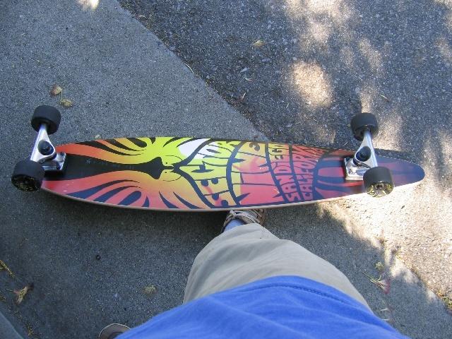 une longboard