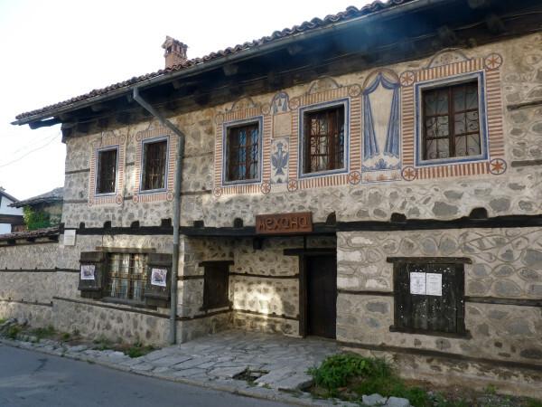 Jour 3 - Bansko Vieille maison décorée