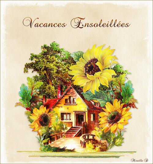 Carte de Vacances Vintage