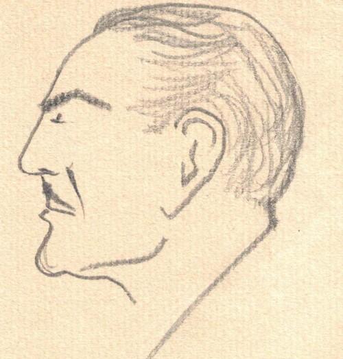 Jean Richard, caricaturiste