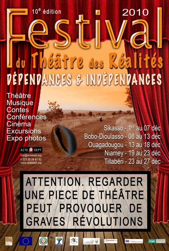 Théâtre des Réalités 2010