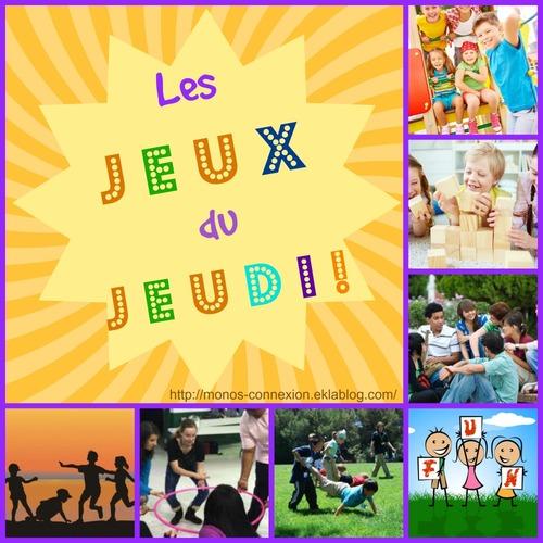 Les JEUX du JEUDI - VIVRE LES VACANCES !