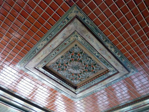 Jour 4 - Melnik - Maison Kordopoulos Plafond pièce princip