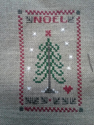 Broderie / Mes en cours...