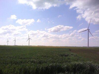 Autour des éoliennes