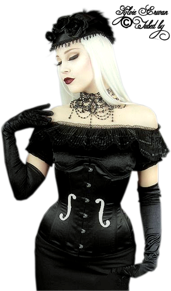 Tubes femmes gothiques création 18